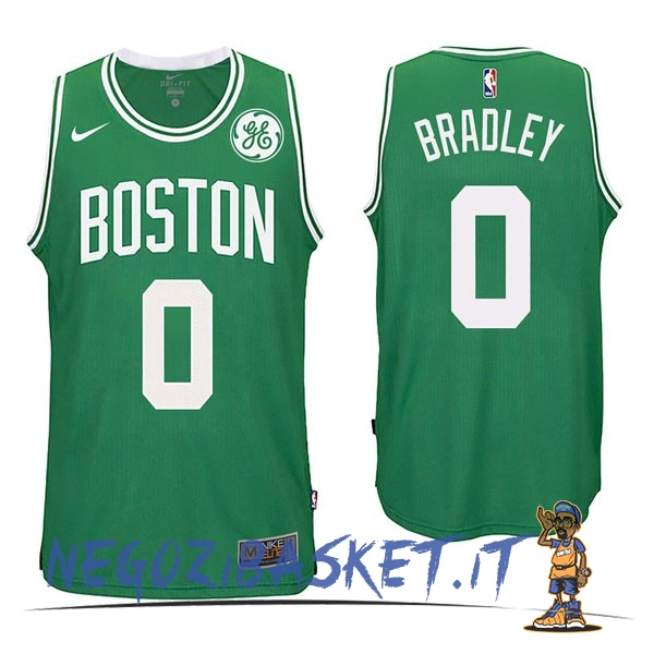 Promo Maglia NBA Nike Boston Celtics NO.0 Avery Bradley Verde