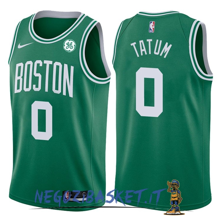 Promo Maglia NBA Nike Boston Celtics NO.0 Jayson Tatum Verde