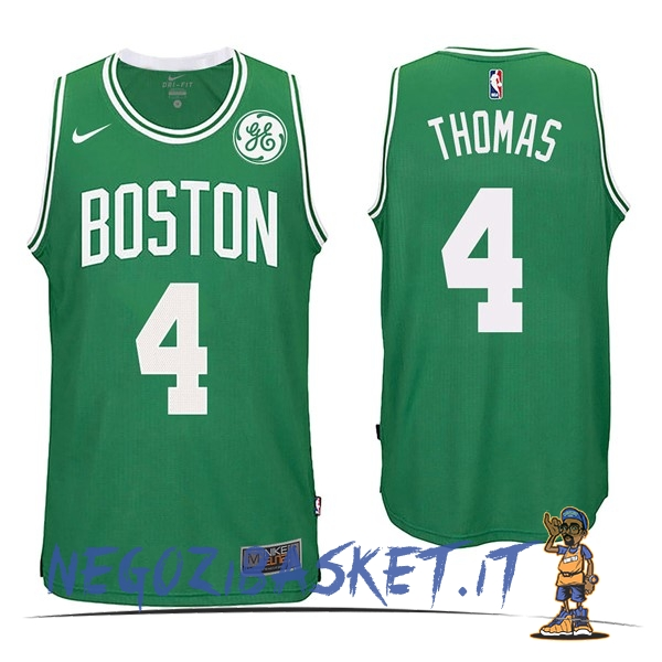 Promo Maglia NBA Nike Boston Celtics NO.4 Isaiah Thomas Verde