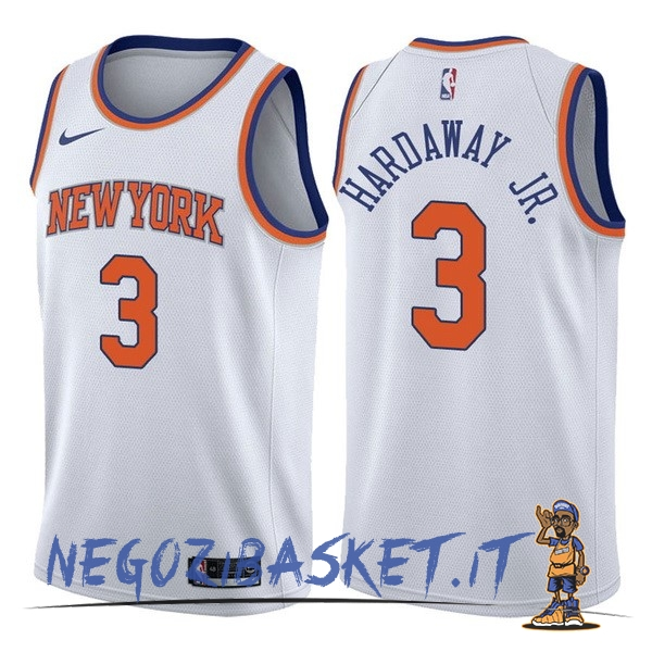 Promo Maglia NBA Nike New York Knicks NO.3 Tim Hardaway Jr Bianco Association