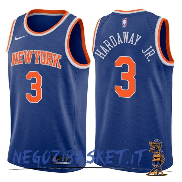Promo Maglia NBA Nike New York Knicks NO.3 Tim Hardaway Jr Blu Icon