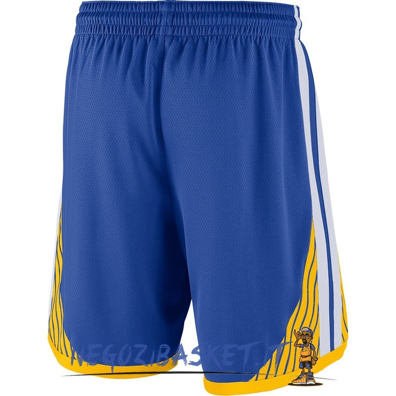 Promo Pantaloni Basket Golden State Warriors Nike Blu