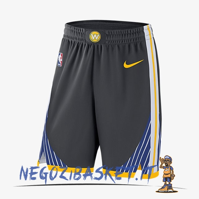 Promo Pantaloni Basket Golden State Warriors Nike Nero