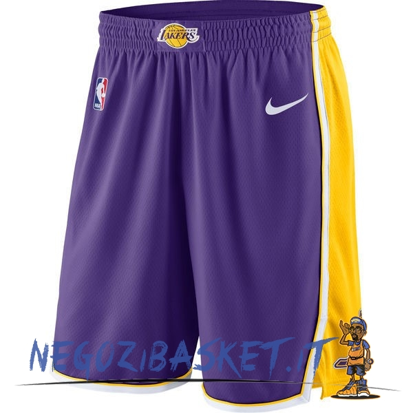 Promo Pantaloni Basket Los Angeles Lakers Nike Porpora