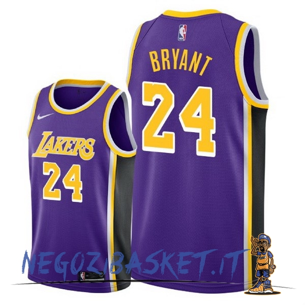 Promo Maglia NBA Nike Los Angeles Lakers NO.24 Kobe Bryant Porpora Statement 2018-19