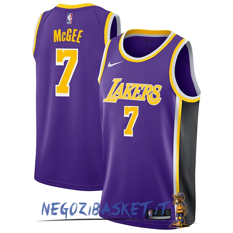 Promo Maglia NBA Nike Los Angeles Lakers NO.7 JaVale McGee Porpora Statement 2018-19