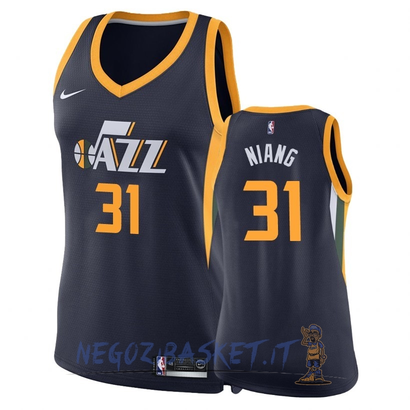 Promo Maglia NBA Donna Utah Jazz NO.31 Georges Niang Marino Icon 2018