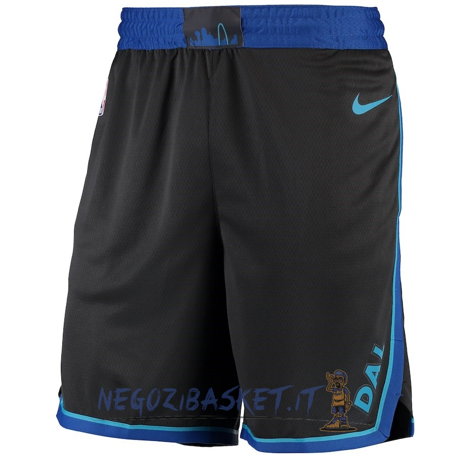 Promo Pantaloni Basket Dallas Mavericks Nike Antracite Città 2018-19