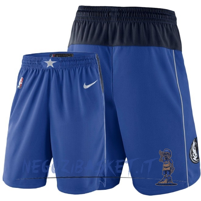 Promo Pantaloni Basket Dallas Mavericks Nike Blu 2018