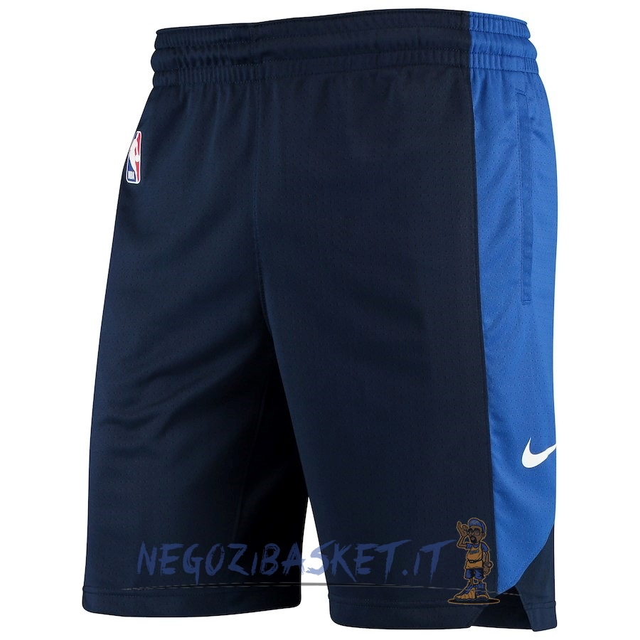 Promo Pantaloni Basket Dallas Mavericks Nike Marino 2018