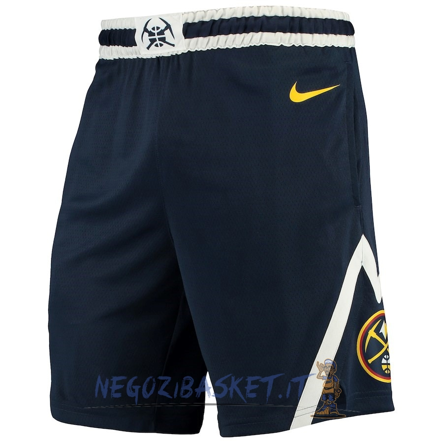 Promo Pantaloni Basket Denver Nuggets Nike Marino Icon 2018
