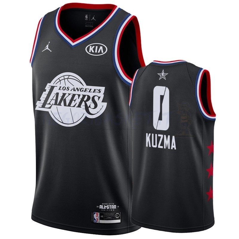 Promo Maglia NBA 2019 All Star NO.0 Kyle Kuzma Nero