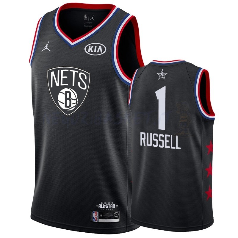 Promo Maglia NBA 2019 All Star NO.1 DAngelo Russell Nero