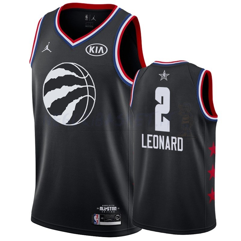 Promo Maglia NBA 2019 All Star NO.2 Kawhi Leonard Nero