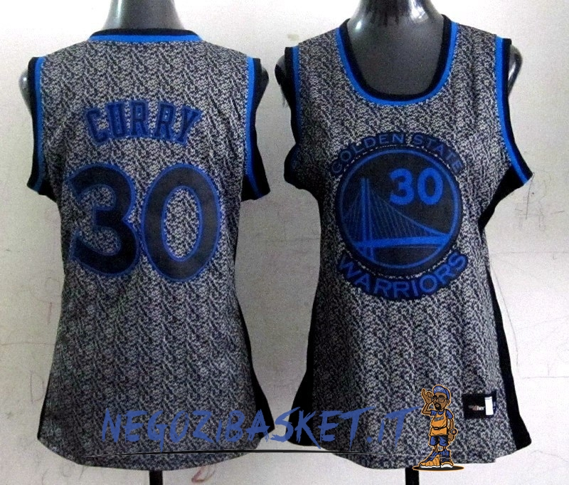 Promo Maglia NBA Donna 2013 Fashion Statico NO.30 Stephen Curry