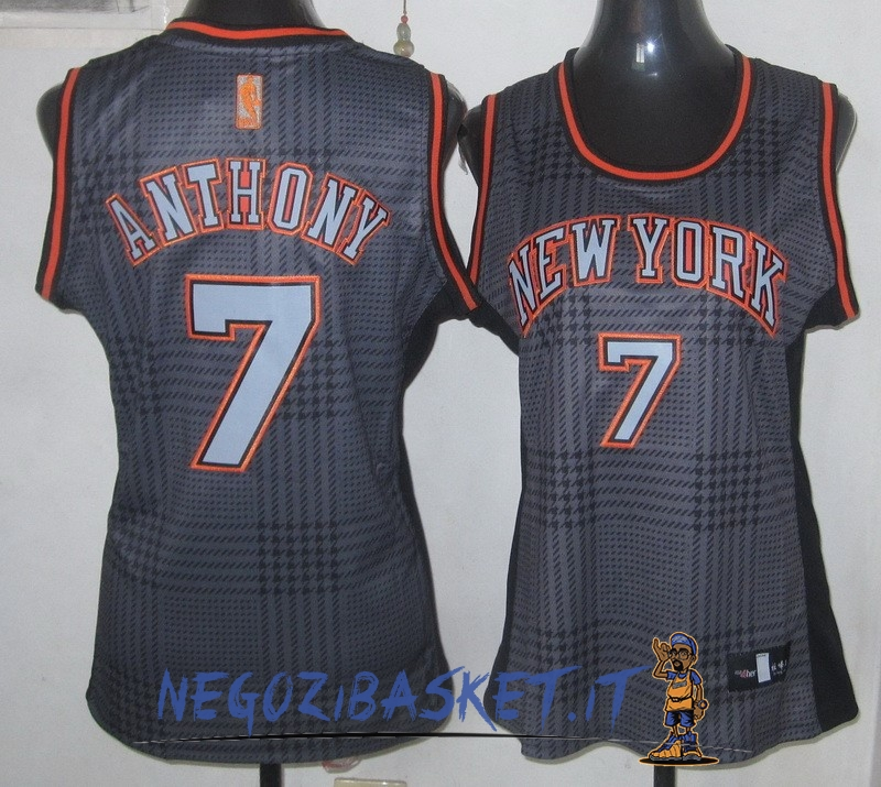 Promo Maglia NBA Donna 2013 Fashion Statico NO.7 Carmelo Anthony