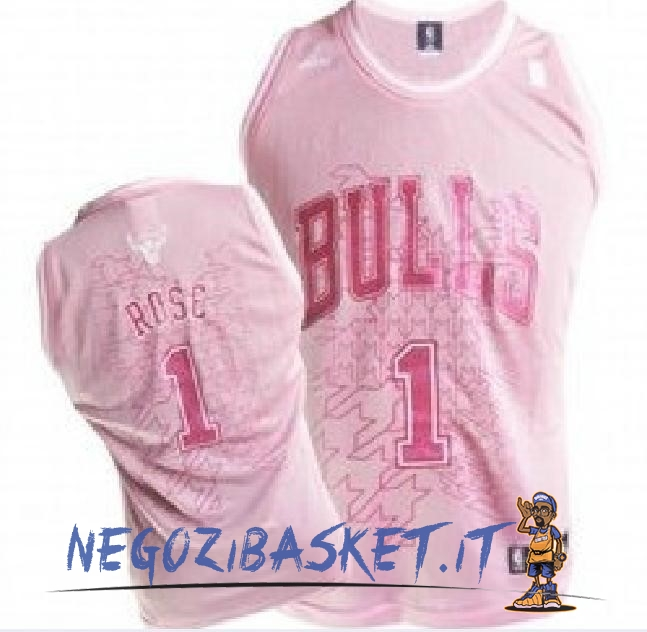 Promo Maglia NBA Donna Chicago Bulls NO.1 Derrick Rose Rose