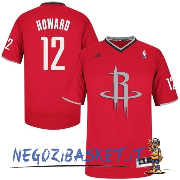 Promo Maglia NBA Houston Rockets 2013 Natale NO.12 Howard Rosso