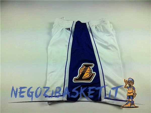 Promo Pantaloni Basket 2015 Natale Los Angeles Lakers Bianco