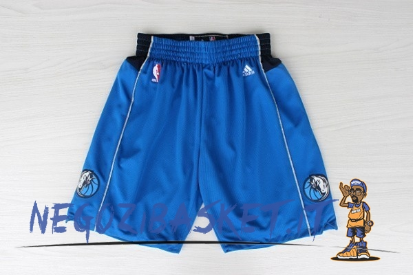 Promo Pantaloni Basket Dallas Mavericks Blu