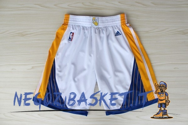Promo Pantaloni Basket Golden State Warriors Bianco