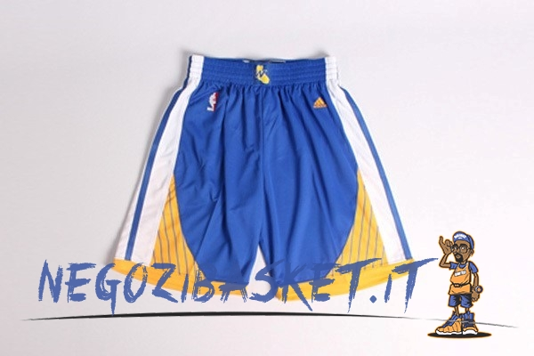 Promo Pantaloni Basket Golden State Warriors Blu