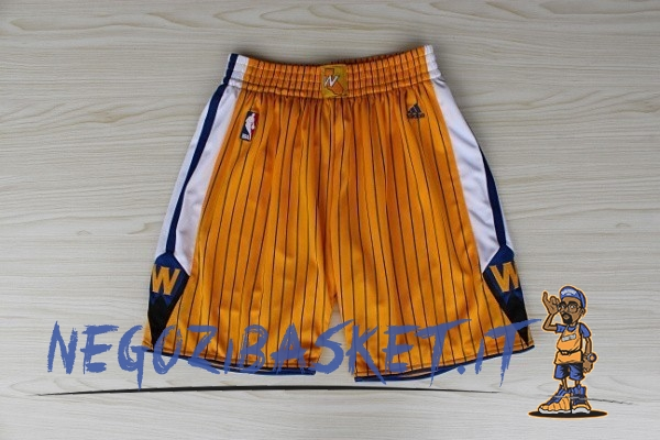 Promo Pantaloni Basket Golden State Warriors Giallo